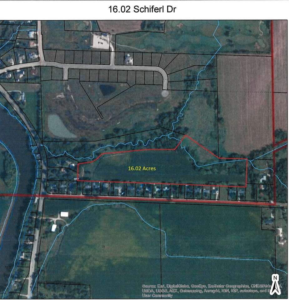 16.02 Acres Schiferl Dr, Jefferson, WI 53549