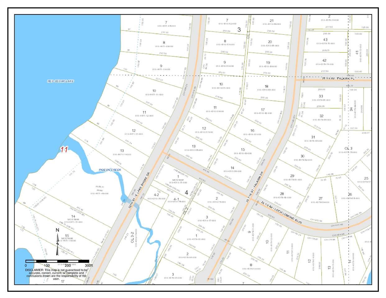 Lot 13 Block 3 Loch Lomond Division One, Cedar Lake, WI 54817