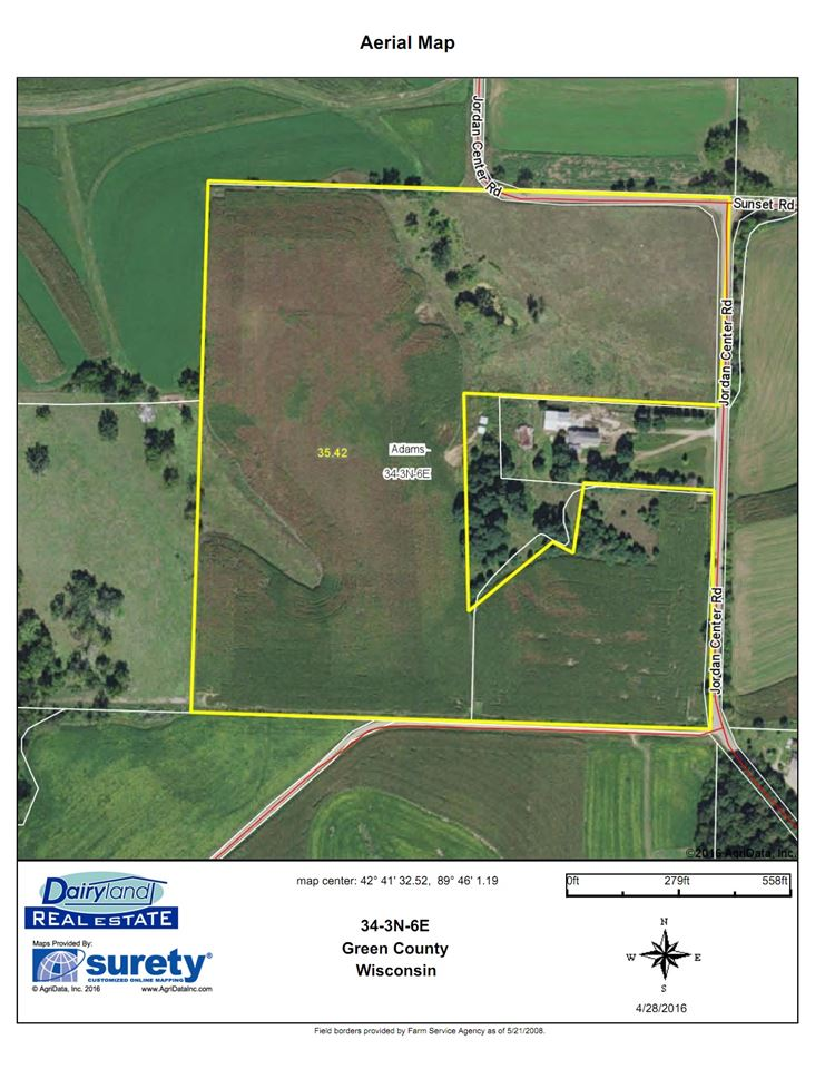 35 Ac Jordon Center Rd, Adams, WI 53566