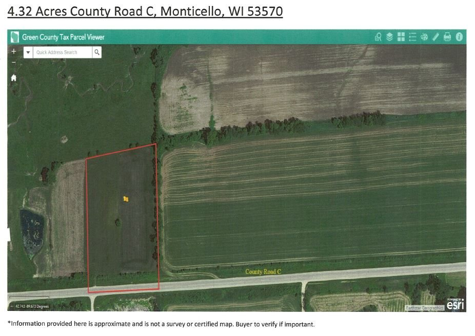 4.32 Ac COUNTY ROAD C, Washington, WI 53570