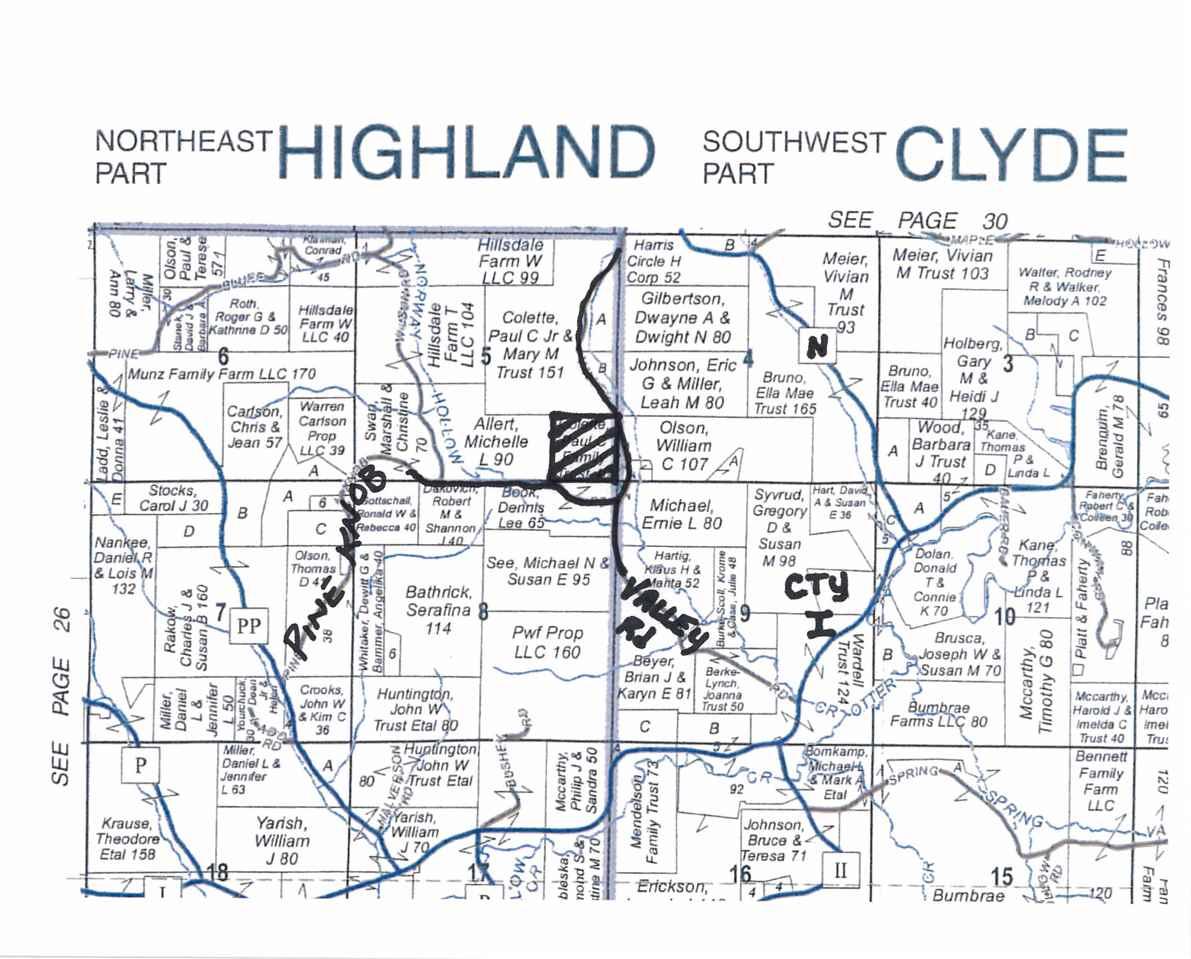 40 Ac Pine Knob Rd, Highland, WI 53543