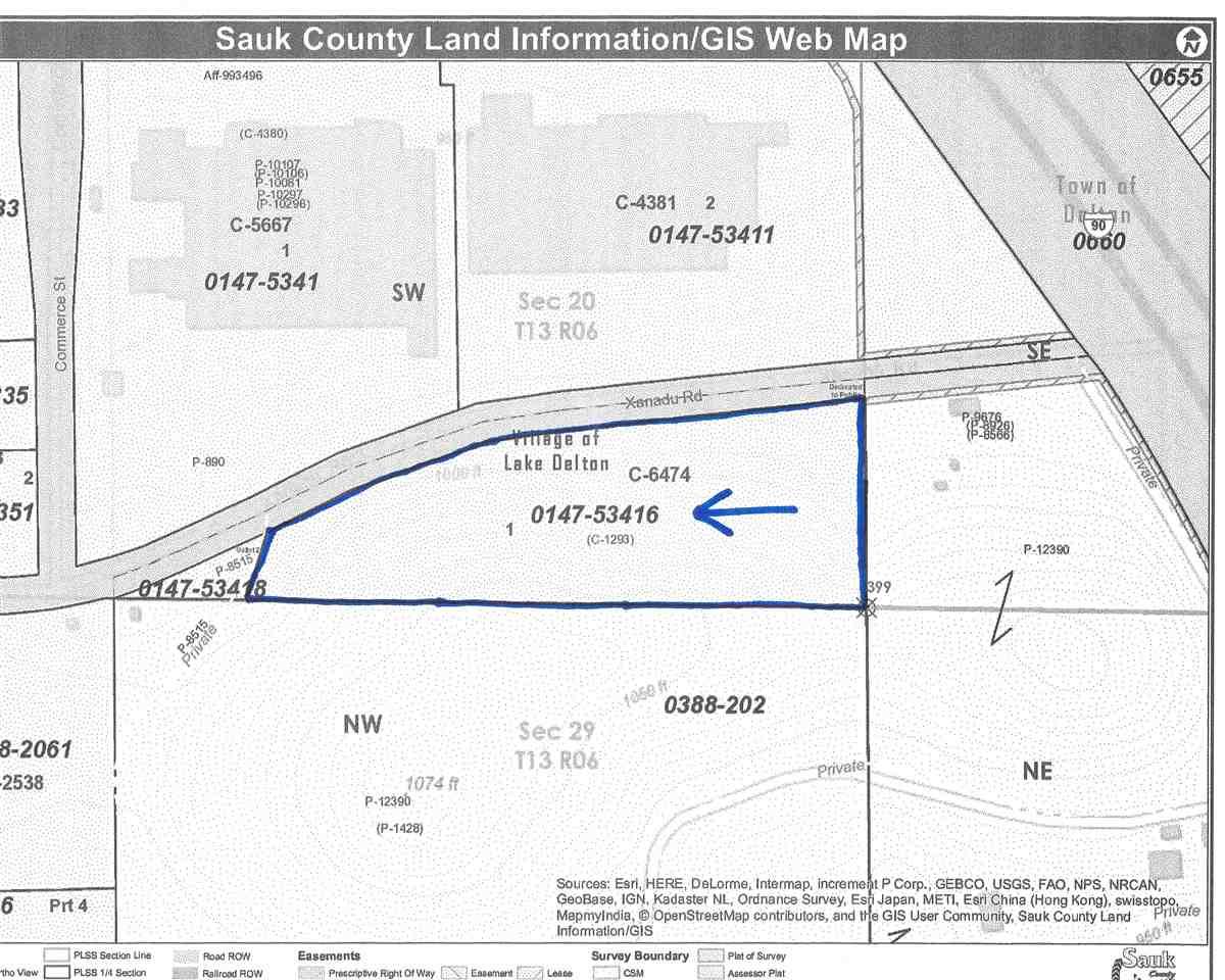 6.74 Ac Xanadu Rd, Lake Delton, WI 53940