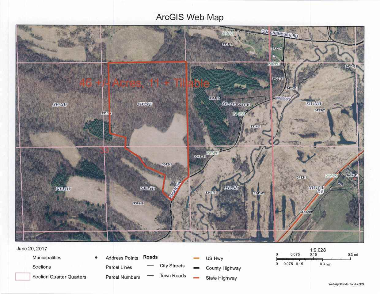 46 Ac Roger Dr, Willow, WI 53581