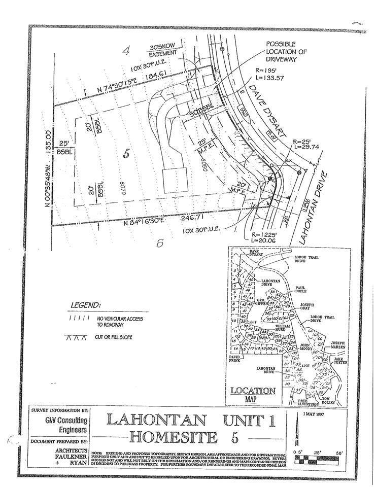 Lote residencial por un Venta en 111 Dave Dysart 111 Dave Dysart Truckee, California 96161 Estados Unidos