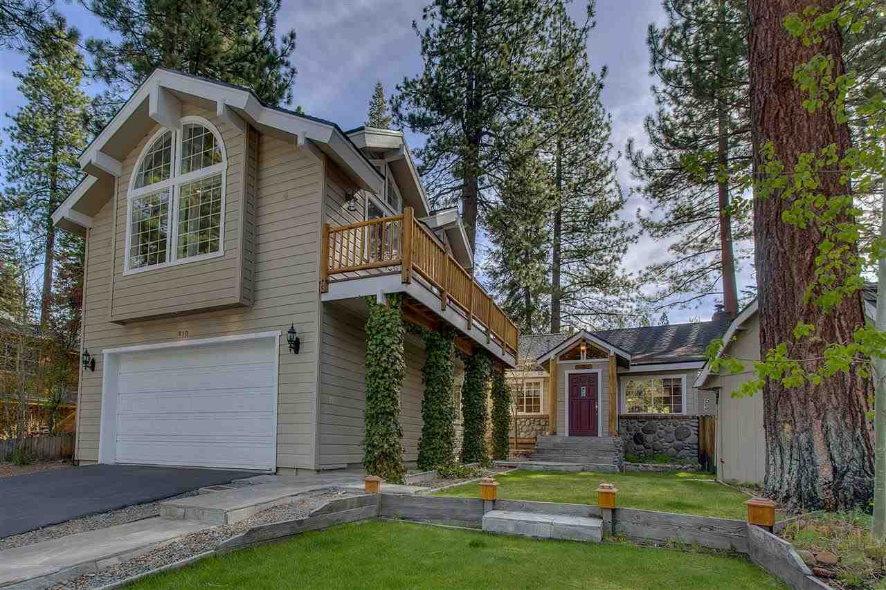 Single Family Home for Active at 610 Midiron Avenue Tahoe Vista, California 96148 United States