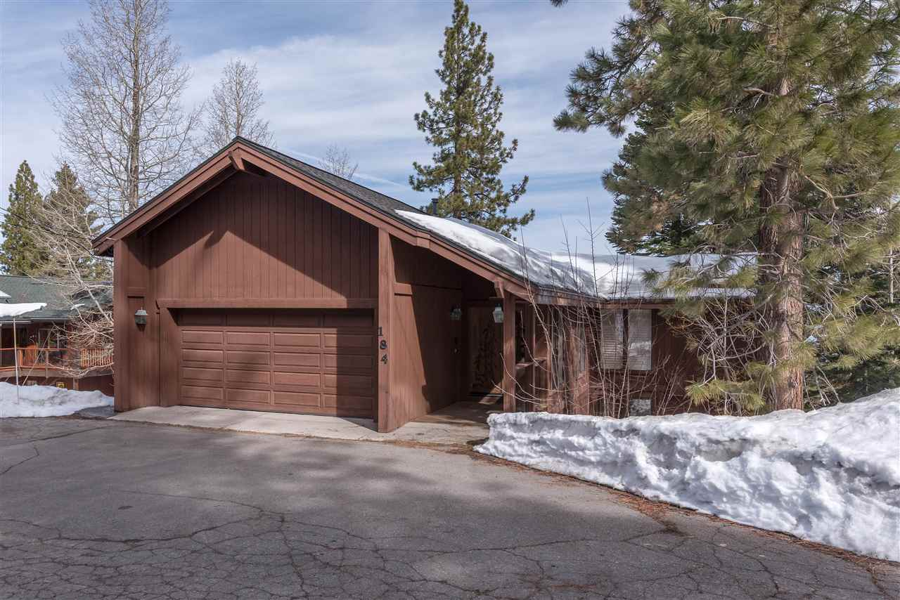 Single Family Home for Active at 184 Edgewood Drive Tahoe City, California 96145 United States