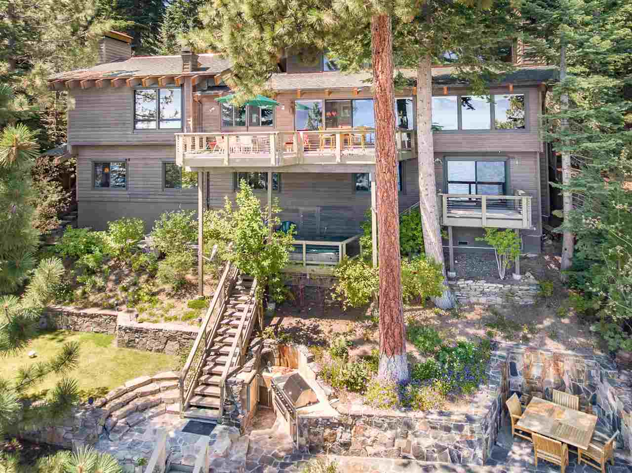 Single Family Home for Active at 3740 North Lake Boulevard 3740 North Lake Boulevard Carnelian Bay, California 96140 United States
