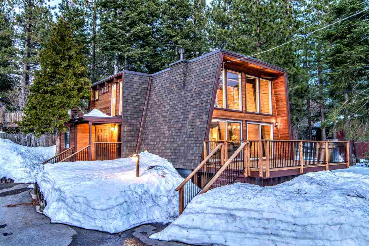 Single Family Home for Active at 140 Lakewood Lane Tahoe City, California 96145 United States