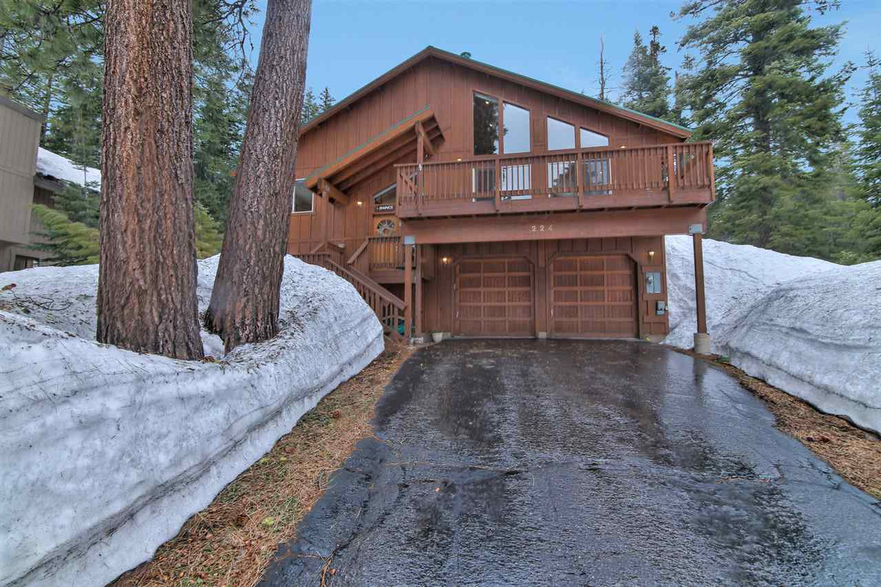 Single Family Home for Active at 224 Talvista Drive Tahoe City, California 96145 United States