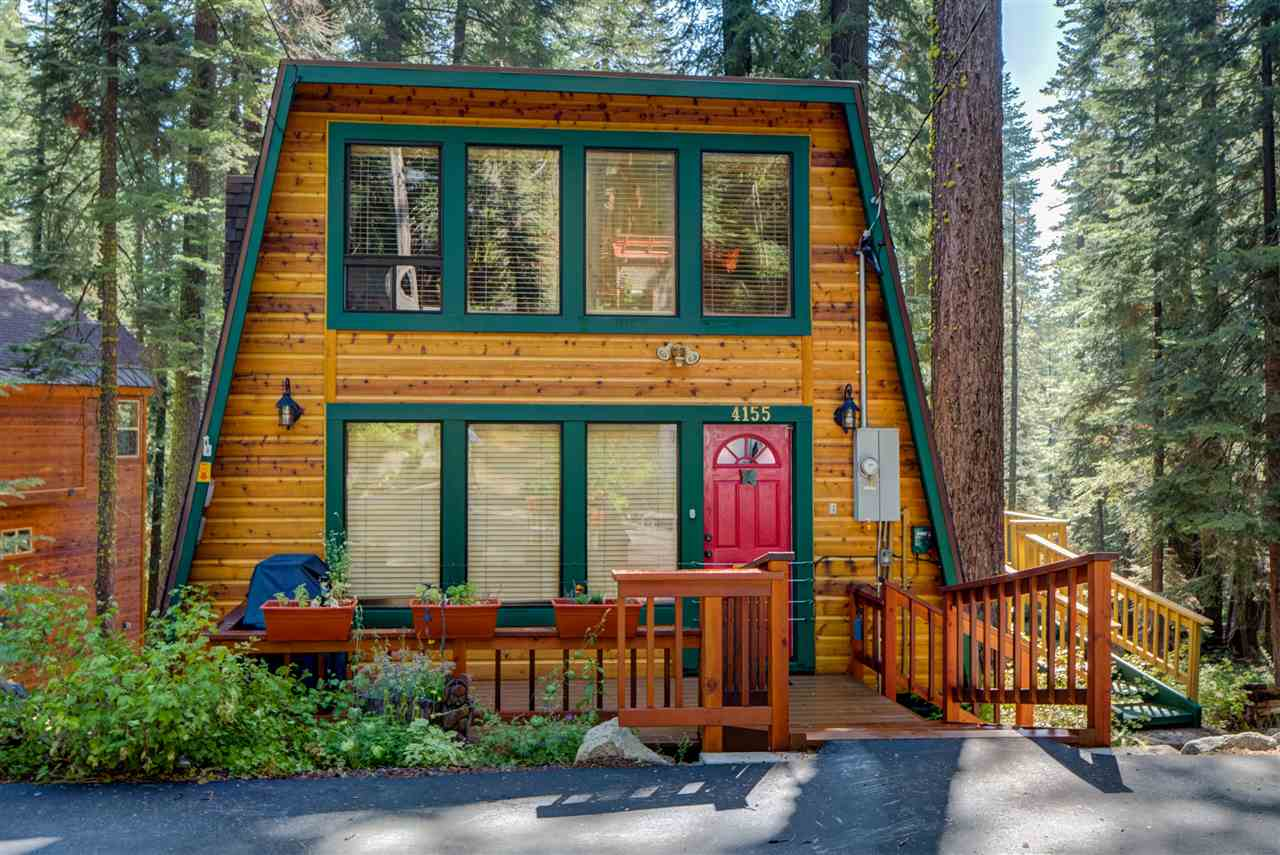 Casa Unifamiliar por un Venta en 4155 Madrone Avenue 4155 Madrone Avenue South Lake Tahoe, California 96141 Estados Unidos