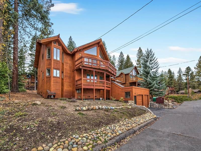 Single Family Home for Active at 183 Edgewood Drive 183 Edgewood Drive Tahoe City, California 96145 United States