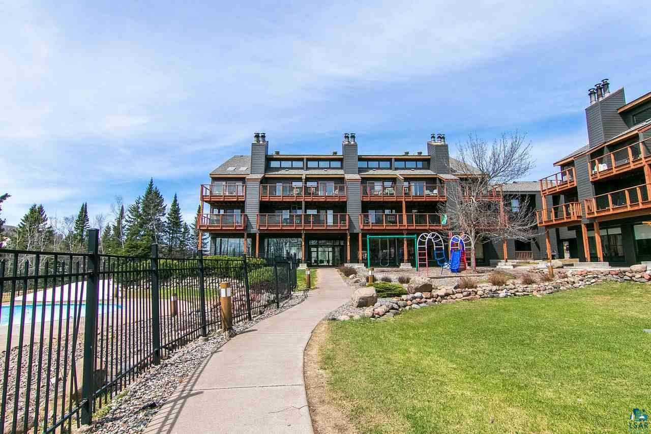 Light filled one bedroom, two bath condo perfect for your North Shore getaways.  Corner unit with panoramic views of Lake Superior, Moose Mountain and the Poplar River waterfalls. New roof, siding and deck. Rental management program in place for worry free ownership.