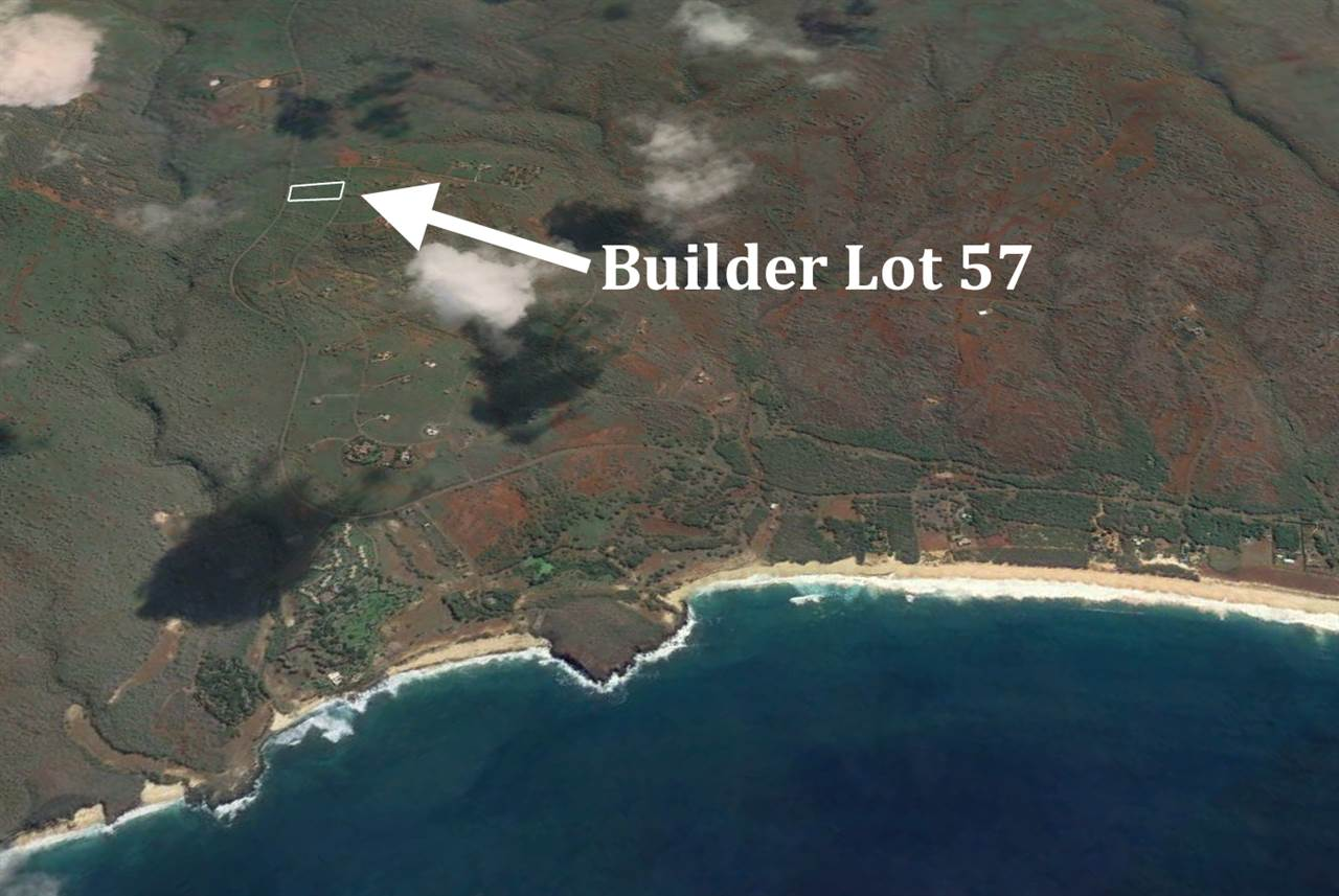 Excellent value! This 5 acre oceanview lot is the best priced lot in Papohaku Ranchlands and Kaluakoi Resort, located minutes from 3 mile long Papohaku Beach and next to miles of trails. Papohaku Ranchlands subdivision, along the west coast of Molokai in the Kaluakoi Resort, includes 5 acre minimum lot sizes for guaranteed privacy, underground utilities, paved streets, and protective CC&Rs to insure quality neighboring homes. Living in Papohaku is like going 70 years back in time to the Hawaii of old--empty beaches, few tourists, no traffic lights (no traffic!), just the twinkling lights of Honolulu on the horizon.