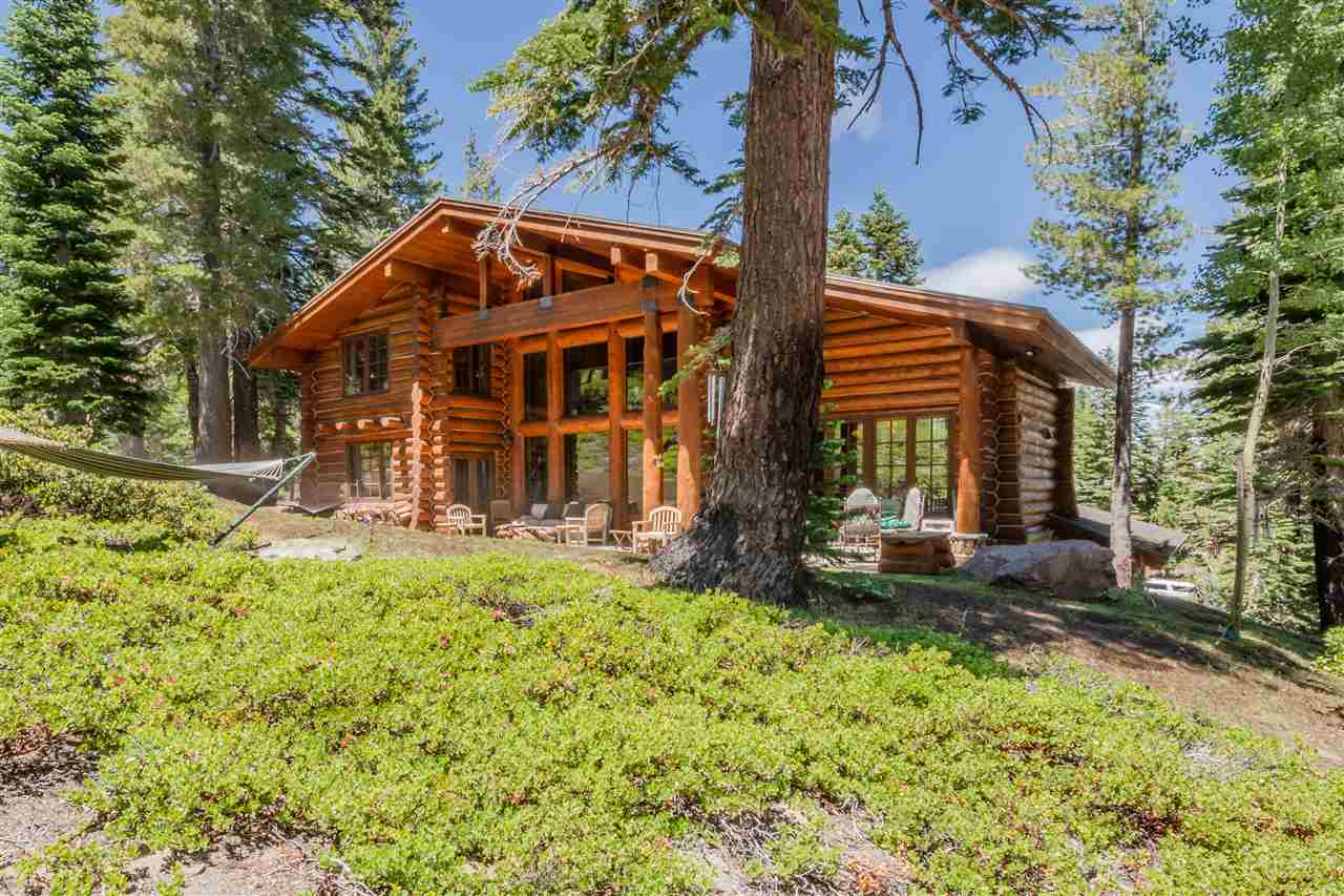 Custom log home designed by Wayne Poulson and built by Lance Bauer with expansive south facing views of Rock Chute and the Sherwins! This five bedroom home offers the perfect layout for full time living or second homeowners with large groups of family or friends. Walnut doors, red fir hardwood floors, Rocky Mountain Hardware. This lot is one of the premier lots in all of Mammoth offering privacy sun and views. Master suite is on the main level. Please see link to Posted Rules of Entry; bit.ly/2AZM6dl