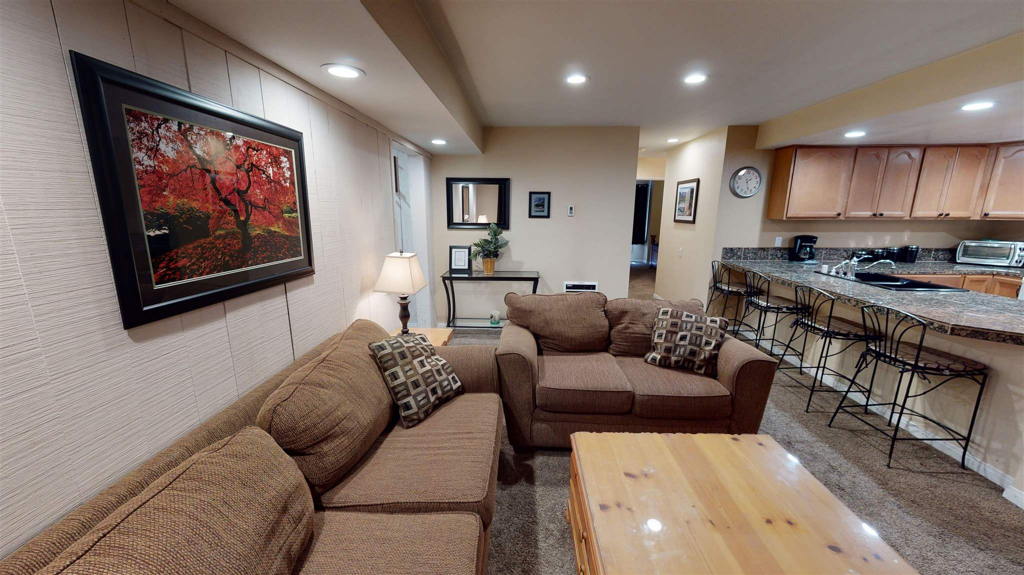 This is a beautiful 2BR/2BA condo with a great in town location: walk to restaurants, shops, Vons, and on the town shuttle service. Clean well maintained unit with newer carpet. Unit has an instant hot water system. The complex amenities features a pool, jacuzzi, sauna, rec. room tennis courts, and laundry facilities. Unit is being sold furnished and inventory will be provided on request. THE COMMENTS ON ZILLOW UNDER WHAT THE OWNER LIKES ABOUT THE CONDO, THE FACTS AND FEATURES, AND THE SALES HISTORY ARE INCORRECT AND PERTAIN TO A 1BR IN THIS PROJECT,NOT THIS UNIT. FOR DETAILS ON THIS UNIT CLICK ON OVERVIEW.