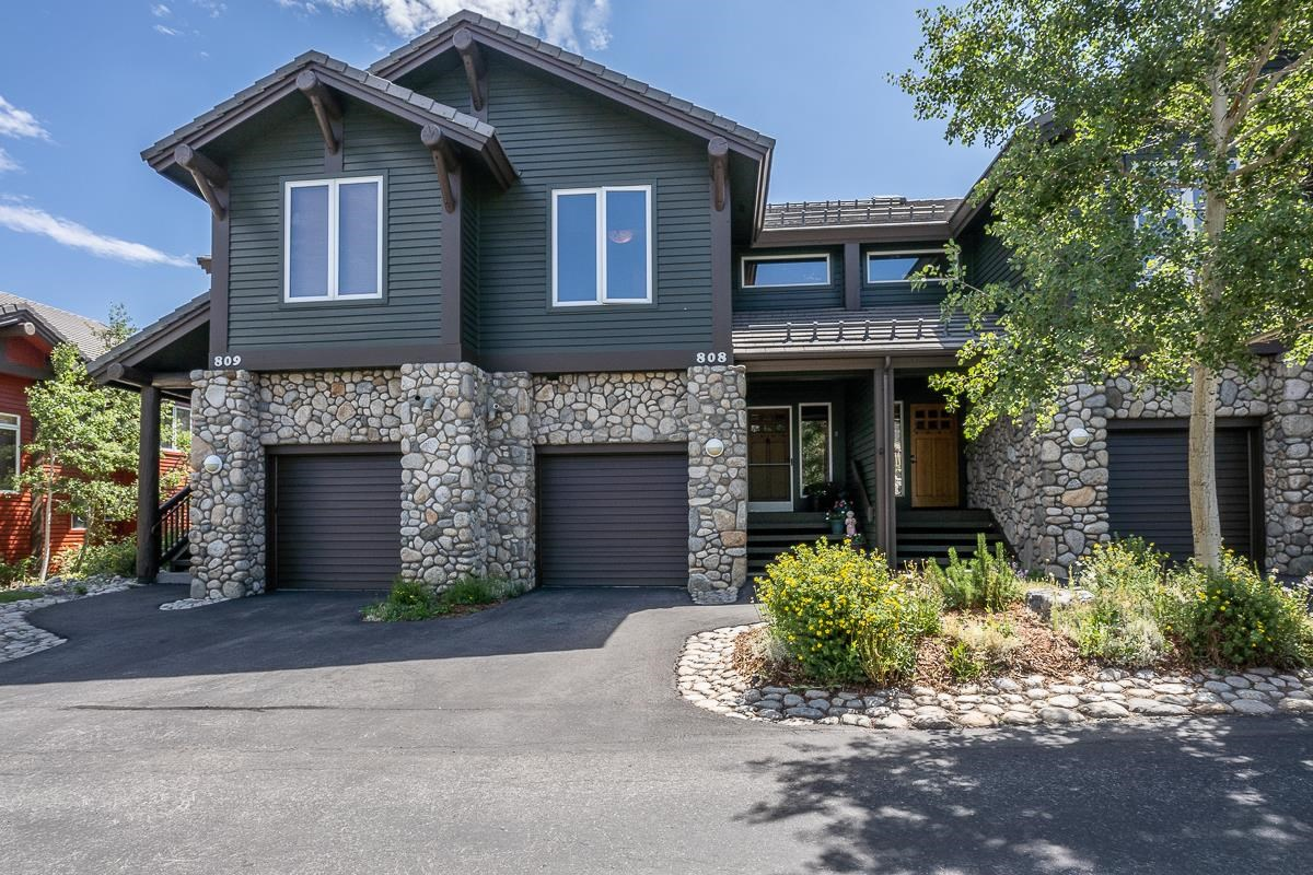 """Breathtaking Views from this extensively remodeled townhome. Adjacent to a million acres of forest service open space with panoramic views of the White and Sherwin Mountains. The $100,000 of custom amenities include white oak floors, a 72"""" square kitchen island, and a Milgard living room view window. The office loft lets you check on Mammoth Mountains snow conditions while working remotely. Enjoy the upgraded baths, Trex decking, and extended balcony. Vaulted ceilings, contemporary furnishings, and light & bright. Hike, sled, cross-country ski, and mountain bike right from your back door. A must-see!"""