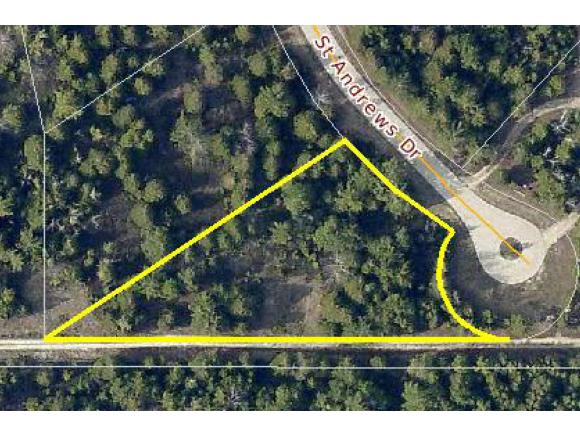 Lot 22 ST ANDREWS Drive,BAILEYS HARBOR,Wisconsin 54202-9288,Vacant land,ST ANDREWS,50140050
