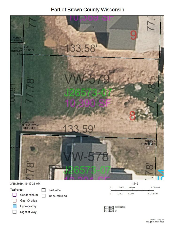 Great location for your new home! Very popular Village of Wrightstown community lot ready to build your new home! Should be able to have an exposed lower. Excellent builder!! Lot is builder exclusive.