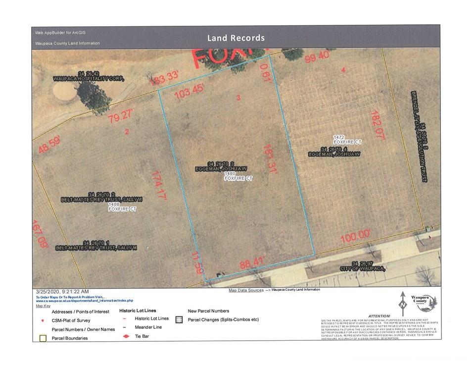 1480 Foxfire Court, Waupaca, WI 54981
