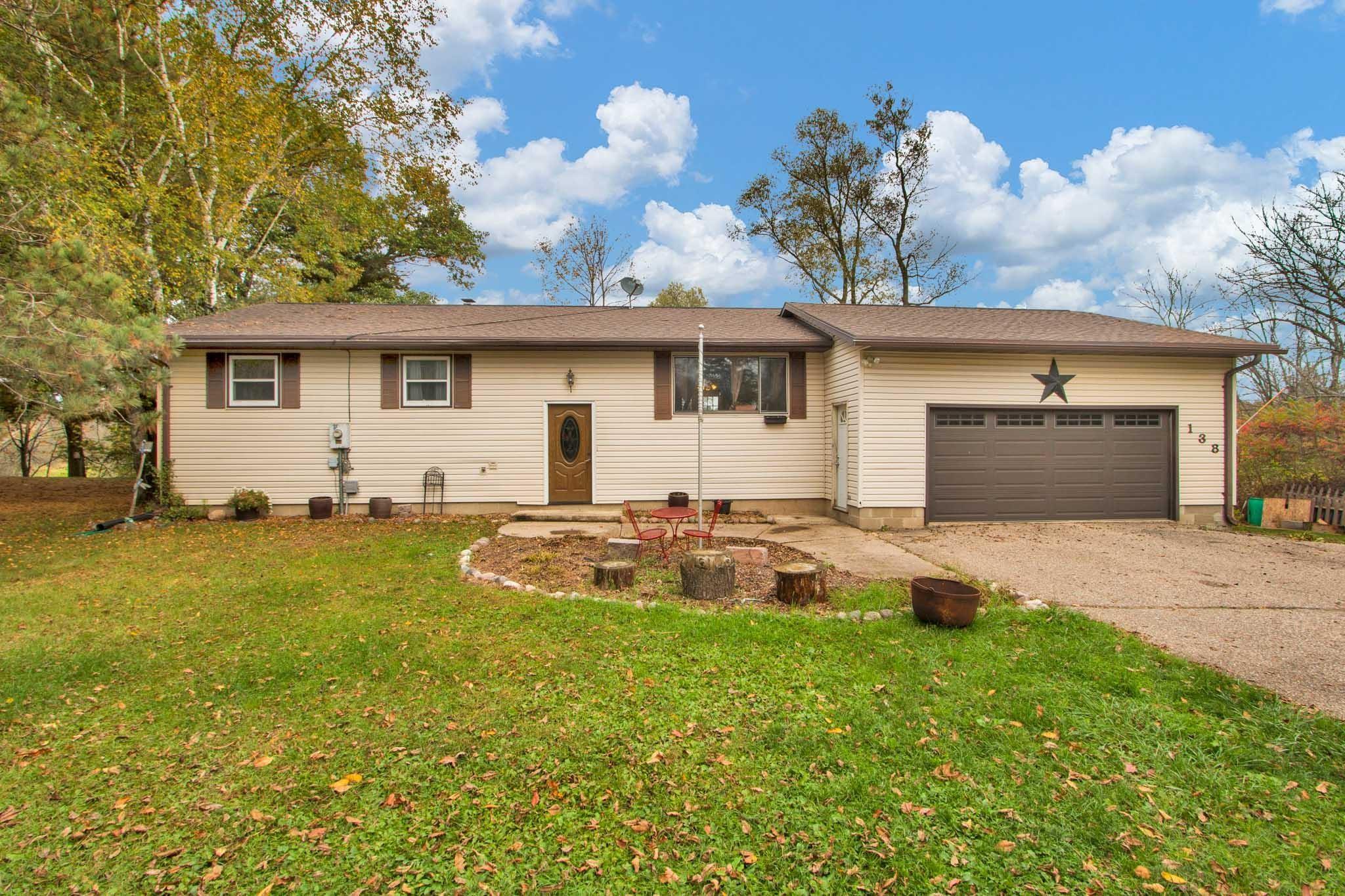 138 Willow Drive, Redgranite, WI 54970