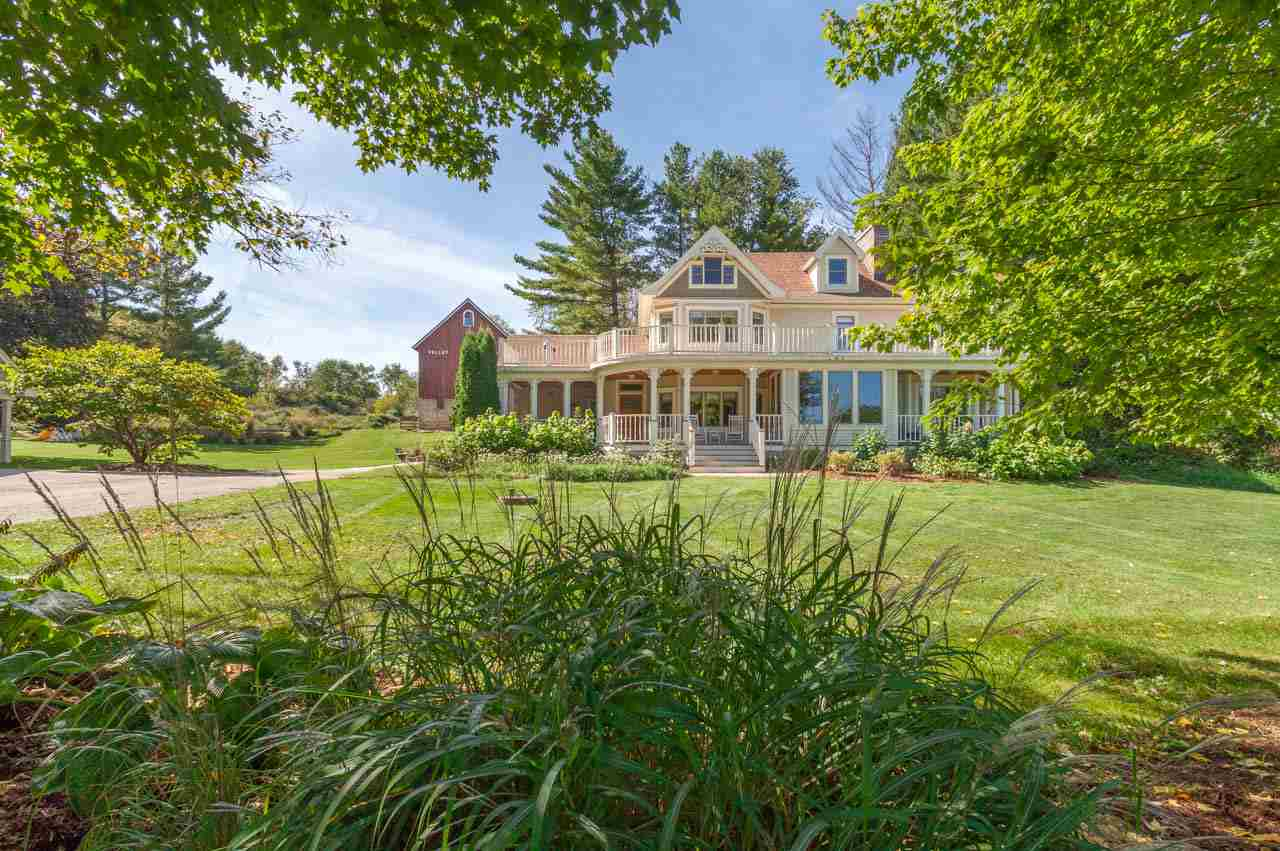 This beautiful 3 story Victorian on 11+ acres in a gorgeous rural setting exudes timeless grace + understated luxury thanks to thoughtful, impeccably crafted renovations since 2015 including: a stunning, high-end kitchen w/sumptuous finishes + top-of-the-line appliances, laundry room + mudroom off the kitchen, 2 awe-inspiring bathrooms & a fabulous 2-story guest house in the renovated granary. The rest of the home has been updated incl a spacious 3rd floor rec room, refinished floors, new doors, custom window treatments, new HVAC + wiring. Plus hiking trails, 2-story barn, 2+ car garage w/storage. Middleton Schools. Wow!