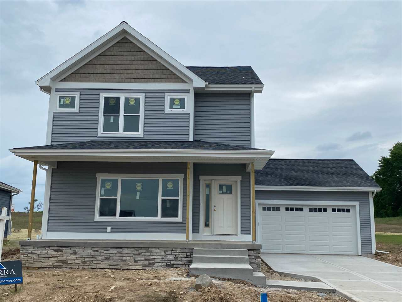 Under construction. This house will be ready for occupancy in June!  Alterra Design custom home in Fitchburg's popular new Terravessa Neighborhood!  Located right next to Oregon's state of the art, new K-6 school opening in fall of 2020.   Features to include bright and open floor plan, walk in pantry, large kitchen island, 2nd floor laundry, large mudroom, and walk in closets in all the bedrooms.  MRP $419,900-$449,900 depending on finish selections and finishing the lower level.