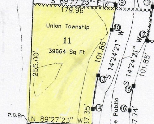 Hard to find lot on nearly 1 acre on the south side of Evansville! Lot backs up to trees and farm fields but still able to connect to city water and sewer as well a natural gas lines!   Bring your own builder! R&K and Sons Construction of Evansville to perform excavation for basement, water, sewer and FEMA land grading requirements at time of home construction. Lot has a small sliver in the back near the lot line that was previously in flood way but all the necessary paperwork has been completed to bring it into compliance.