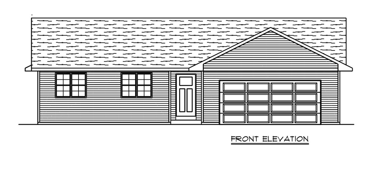 Construction to begin soon! NEW FLOOR PLAN! Designed to get the most bang for your buck while being built with utmost care and quality craftsmanship by the best construction crews around! We support local with all contractors and suppliers from the area! This 1,250 sq. ft plan includes 3 bedrooms, 2 bathrooms, 2 car garage, vaulted ceiling, open concept, all appliances included, luxury vinyl plank flooring, solid wood cabinets, laminate counters, large master bedroom w/master bath suite and large walk-in closet. Basement includes egress window for future 4th bedroom and stubbed for future 3 bathroom. Basement finishing available. Estimated completion Oct. 2020.