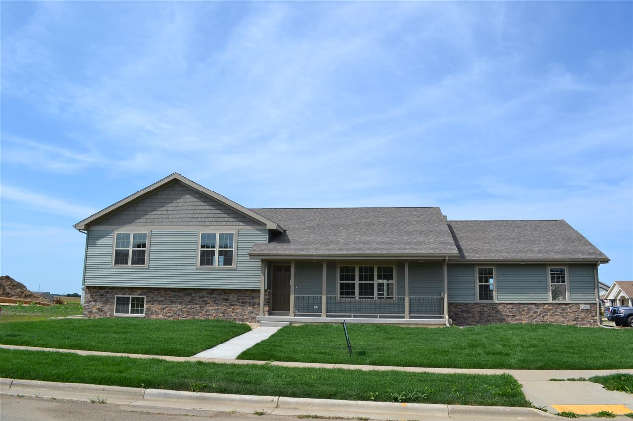 You can have some of your own choices as we are early on in the construction process. With 4 bedrooms and 3 full baths, it features a large family room with a stone fireplace and a walkout, and a bonus room with surround sound that could be used for various purposes. Master bedroom has a tiled walk-in shower and double vanity. Kitchen has lots of maple cabinets and granite counter tops. If you want lots of quality living space for the dollar this could be your number.