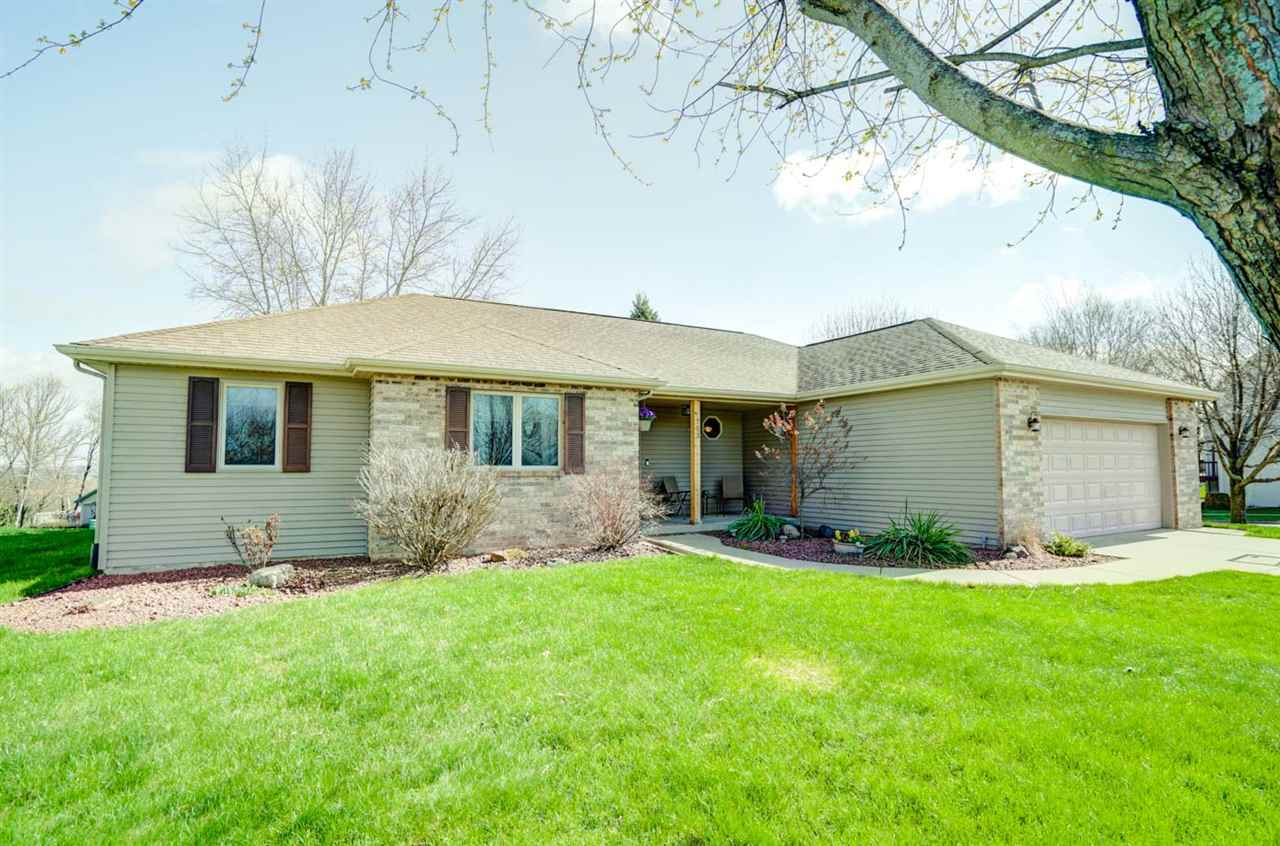 Very well maintained ranch home in Oregon's Ridge View Estates.  This home offers an open floor plan with 3 bedrooms on the main level.  The primary bedroom suite offers a half vaulted ceiling, full bath with double vanity and a walk in closet.  Beautiful hard wood floors on the main level installed in 2018.  The kitchen cabinets were refaced 3 years ago and the refrigerator and dishwasher have both been replaced recently.  The lower level features a large family room with a wet bar.  Great bonus room on the LL offers plenty of options for buyer.  Lower level also offers a half bath, access to the garage, and custom designed sauna.  Nicely landscaped yard and newer maintenance free deck.  The furnace was replaced in fall of 2020.