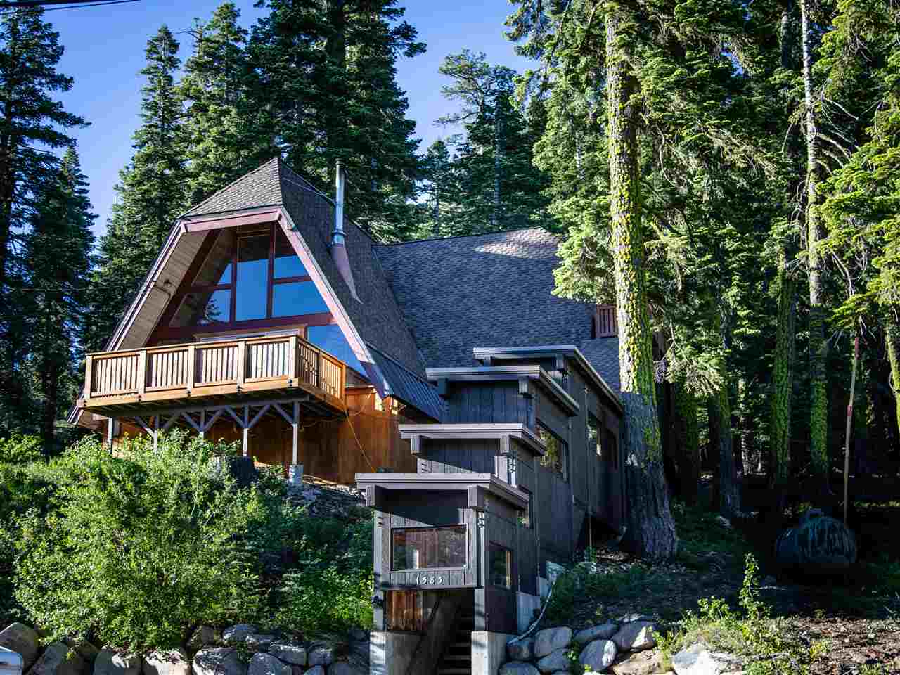 Single Family Homes for Active at 1583 Upper Bench Road Tahoe City, California 96146 United States