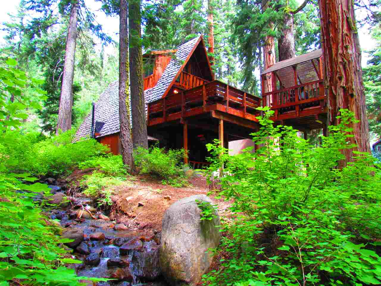 Single Family Homes por un Venta en 2555 Owl Lane Tahoe City, California 96145 Estados Unidos