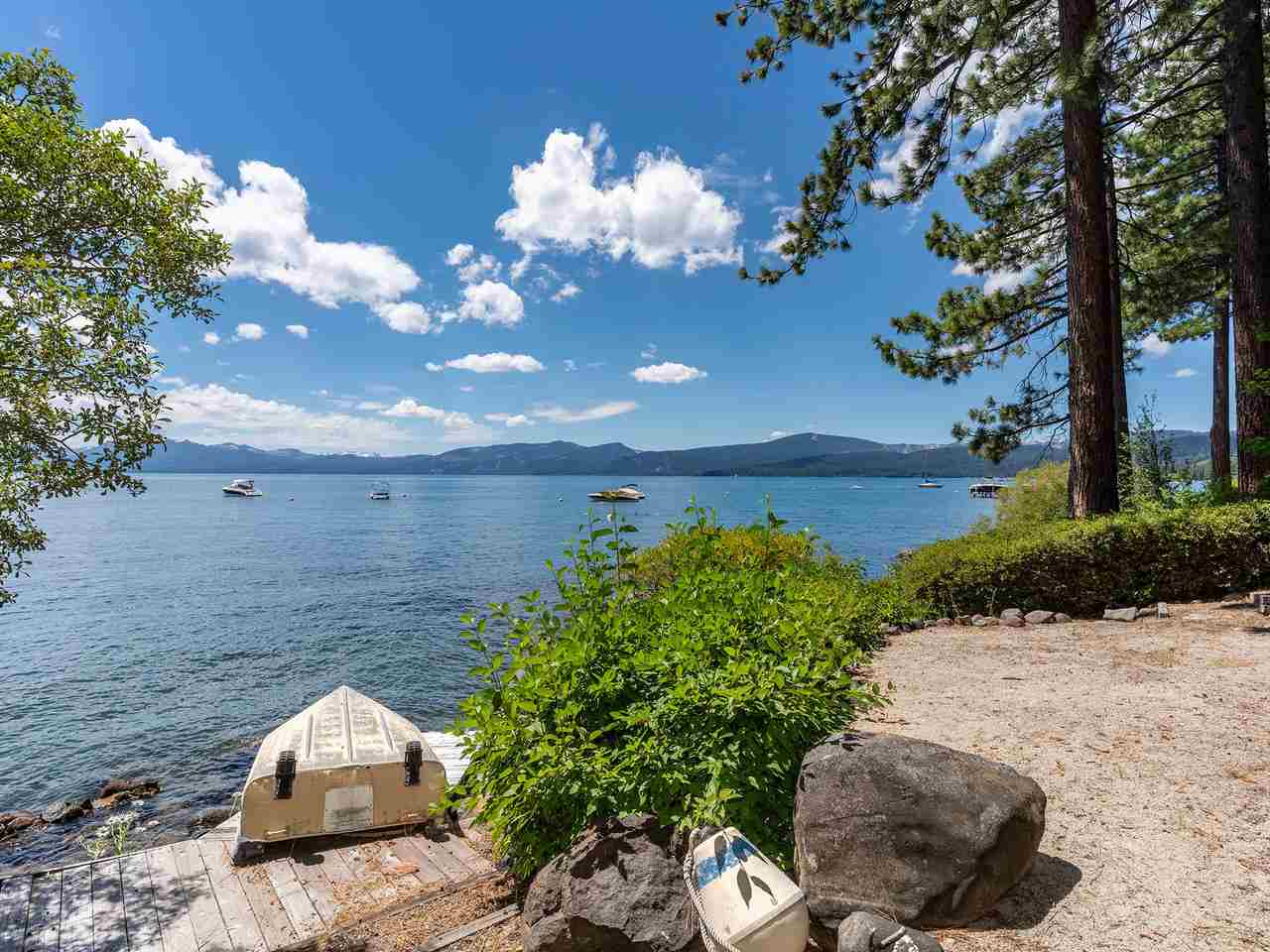 Single Family Homes for Active at 3360 Edgewater Drive Tahoe City, California 96145 United States