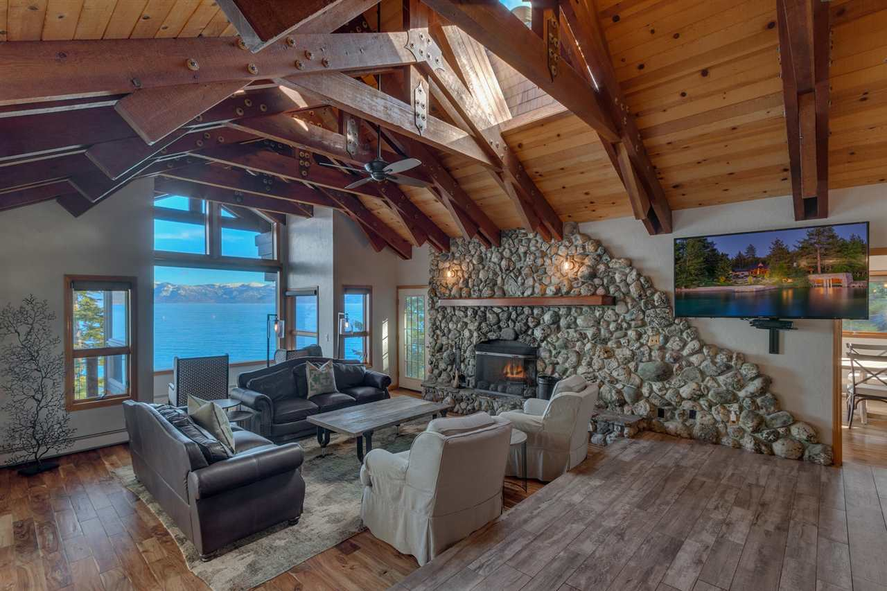 Single Family Homes for Active at Tahoe Lakefronts, Carnelian Bay, California United States