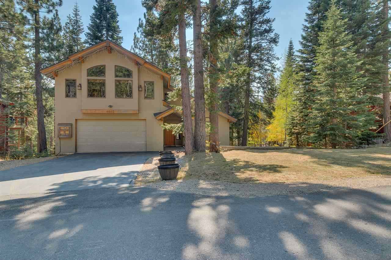 Single Family Homes for Active at 4003 Courchevel Road Tahoe City, California 96145 United States