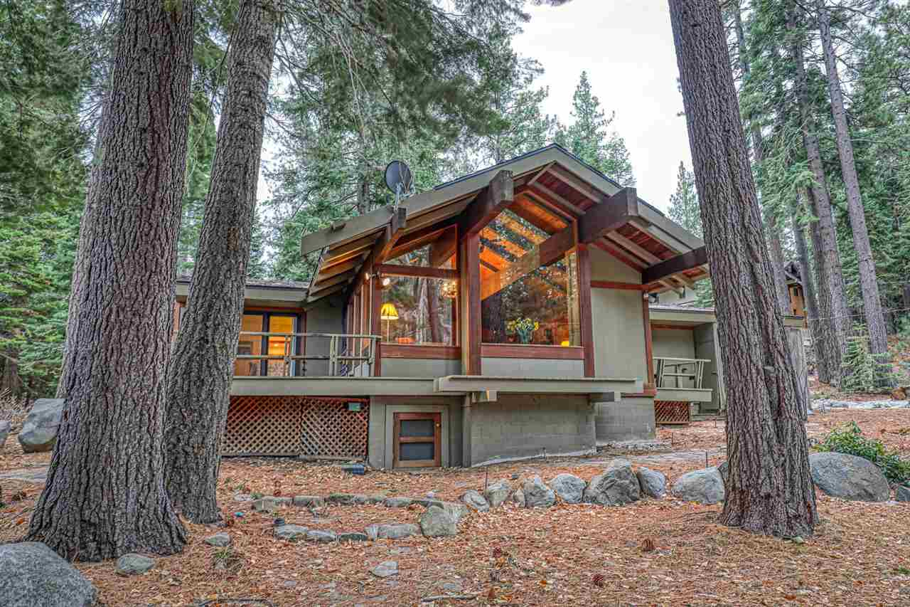 A rare opportunity to join the coveted Moana HOA is finally available. The quintessential Morton designed home is perfectly positioned at the confluence of McKinney Creek and Lake Tahoe and steps from the private beach, pier, and buoy's. The great room is designed for enjoying time with family and friends by the grand stone fireplace while they gaze at the Aspen lined creek and enjoy views of Lake Tahoe. The chef of the home will thrive in the spacious kitchen that intuitively flows into the dining room.