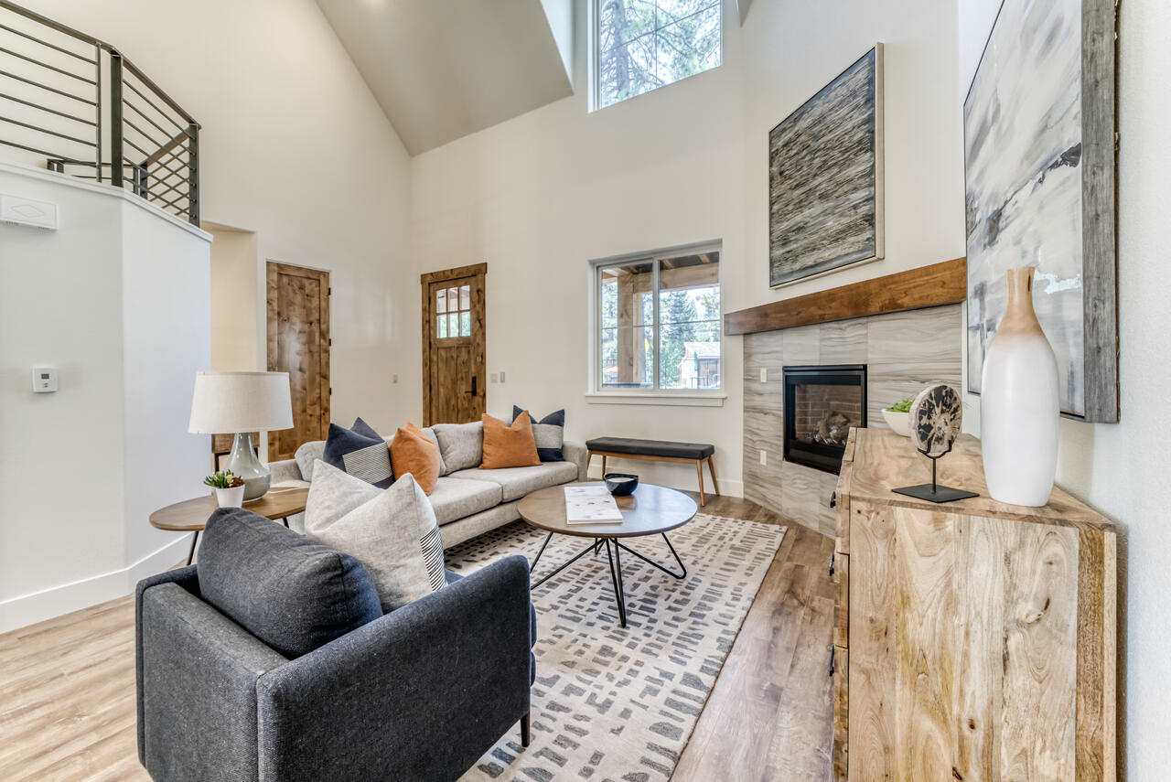 Welcome to Wood Vista Lodge, historically a cozy motel, now 6 luxury town homes. Featuring a common pool, clubhouse and outdoor recreation area, this luxury townhome compound offers owners the ultimate in lifestyle. Across the main road from the Beach public beach, minutes to Kings Beach restaurants and shops, these beautifully designed three bedroom townhomes are a perfect Lake Tahoe getaway.