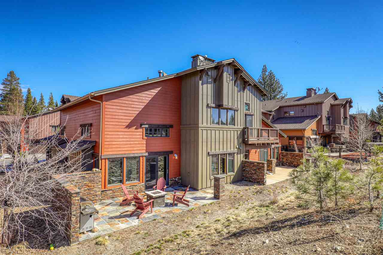 This immaculately maintained townhome is centrally located in Truckee. Fine   craftsmanship is evident throughout - from the masonry work on the outdoor patio, to the vaulted ceilings and hardwood floors inside. The living room features a dual-sided gas fireplace, while luxury touches like maple cabinets, granite slabs, and GE Profile appliances make the kitchen a wonderful place to prepare meals. The Master Suite boasts its own gas fireplace, walk-in closet, jetted tub with a separate shower. Central AC.